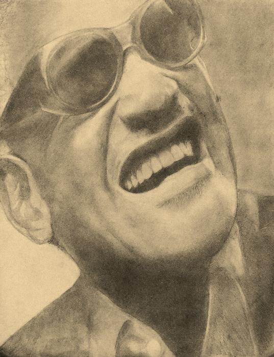 Ray Charles by sketch1961